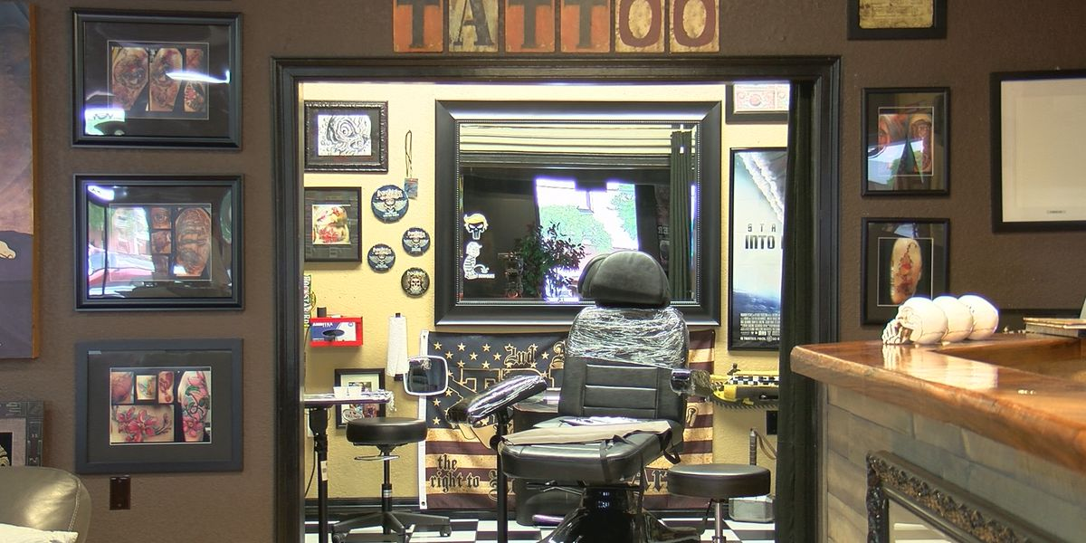 Mississippi tattoo parlors allowed to re-open under health guidelines