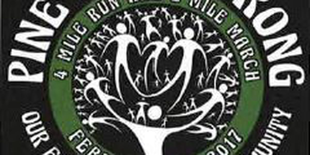 Pine Belt Strong 4-mile run/march to help tornado victims