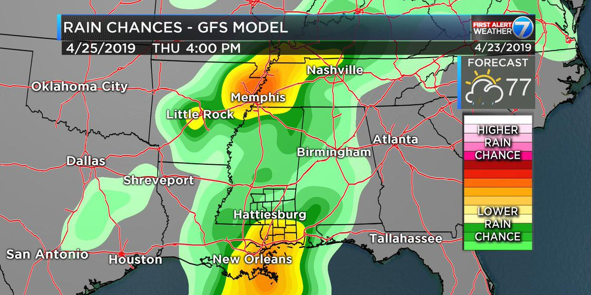 First Alert: Another round of severe weather possible Thursday