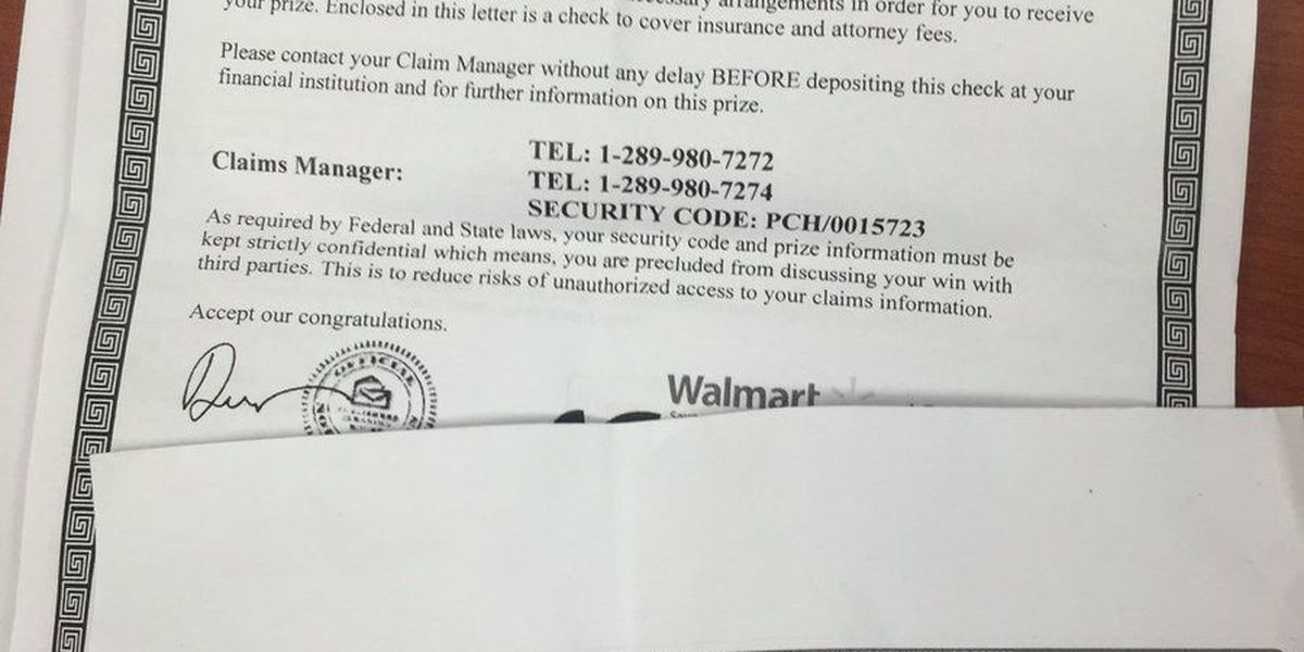 Publishers Clearing House mail scam hits Glendale