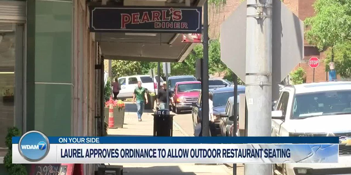 Laurel City Council approves ordinance to allow outdoor restaurant seating