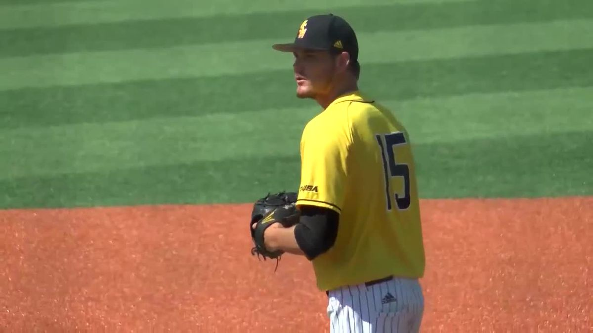 USM's Walker Powell throws 7-inning no-hitter Saturday afternoon