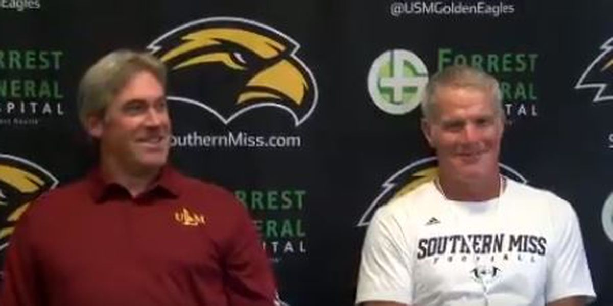 Favre on hook after friendly wager with Pederson