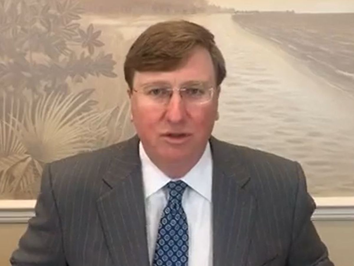 WATCH: Gov. Reeves discusses COVID-19 on Facebook Live