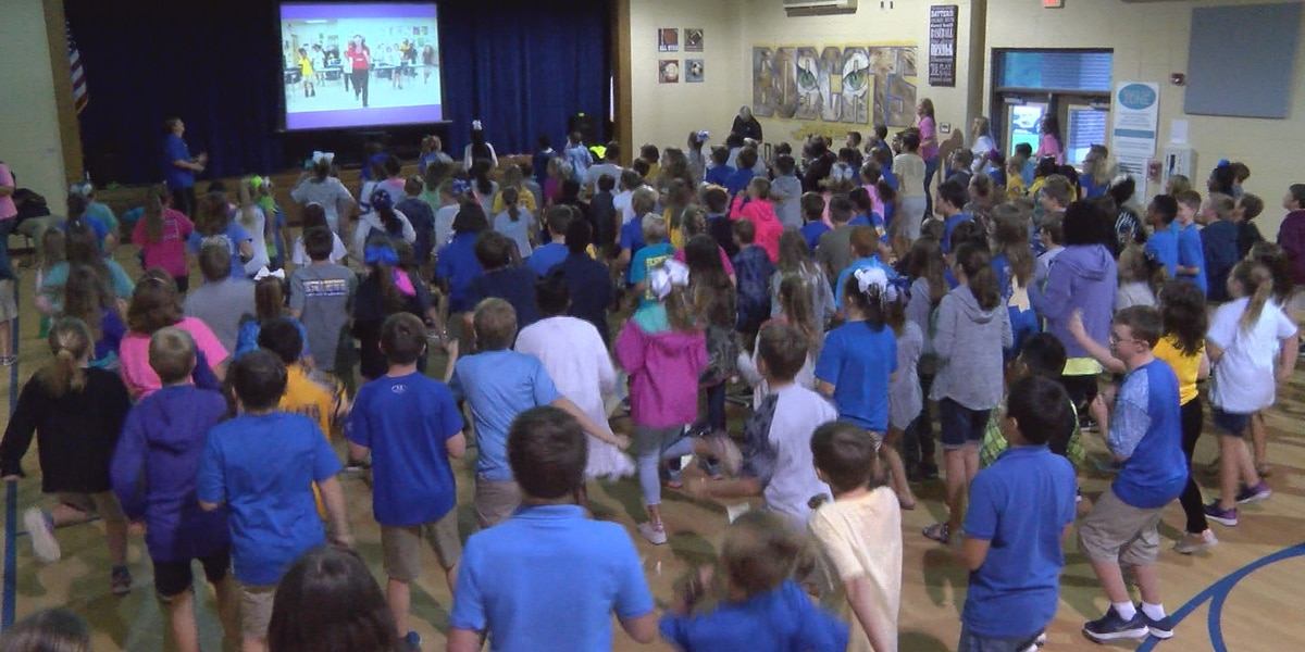 Sumrall Elementary students 'Move to Learn'