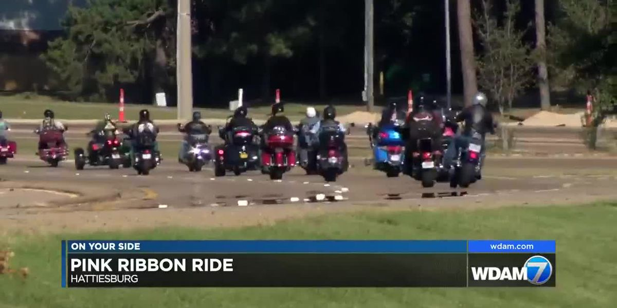 Motorcyclists hit the streets for 3rd Annual Pink Ribbon Ride