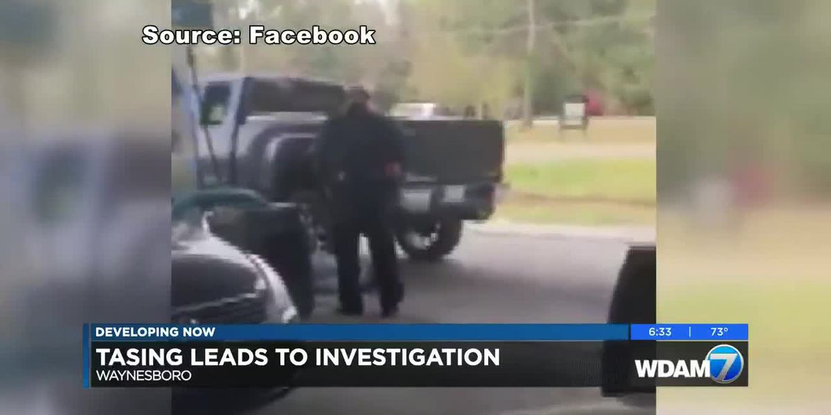 Tasing by Waynesboro officer leads to investigationv