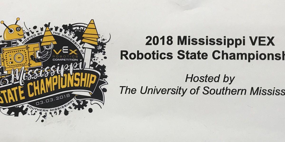 Southern Miss hosts Vex robotics state championship