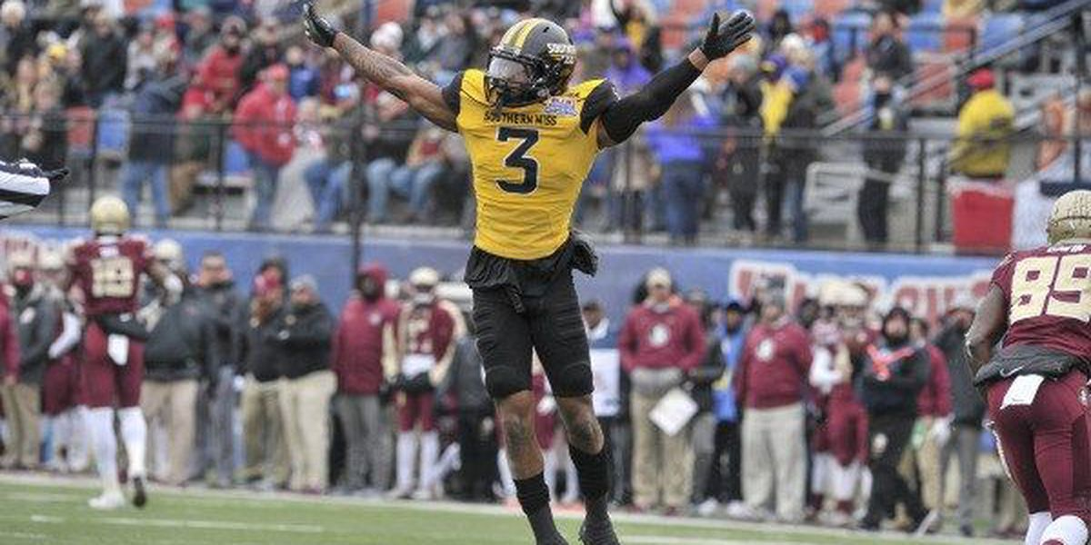 USM's Cornell Armstrong drafted by Miami Doplphins in 6th round