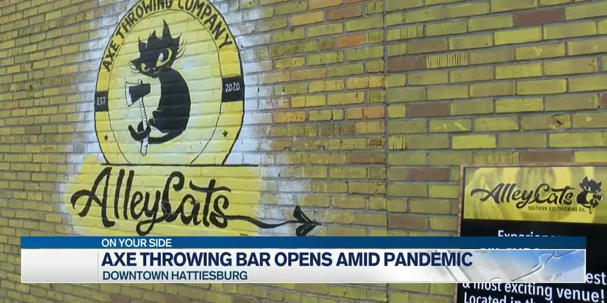 Axe throwing company opens downtown amid pandemic