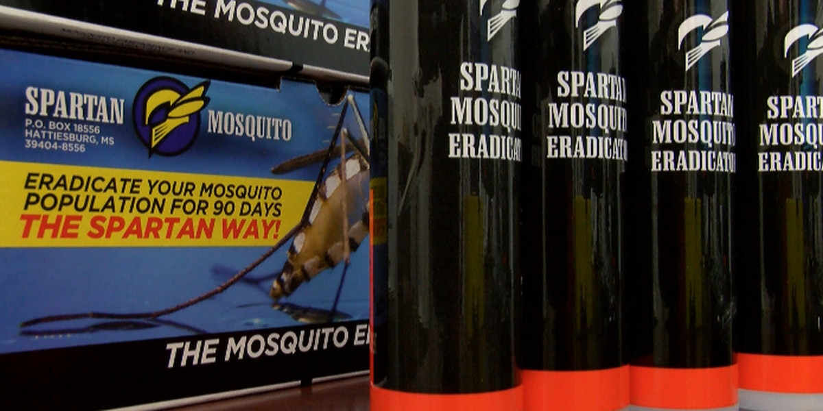 Hattiesburg man invents product to control mosquitoes