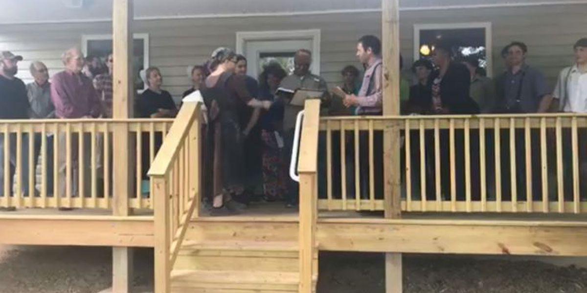 Hattiesburg family displaced by tornado gets a new home