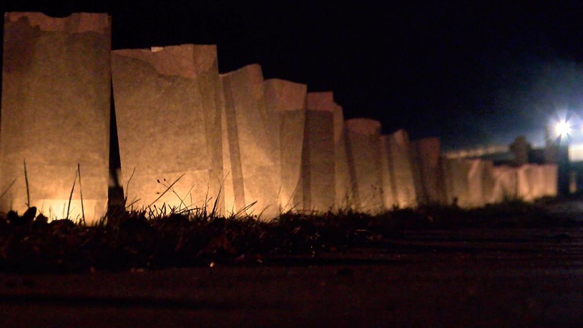 New Augusta holds annual Luminary Walk Through