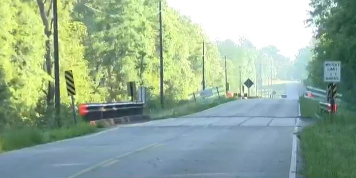 Jones County bridge on Lower Myrick Road reopens