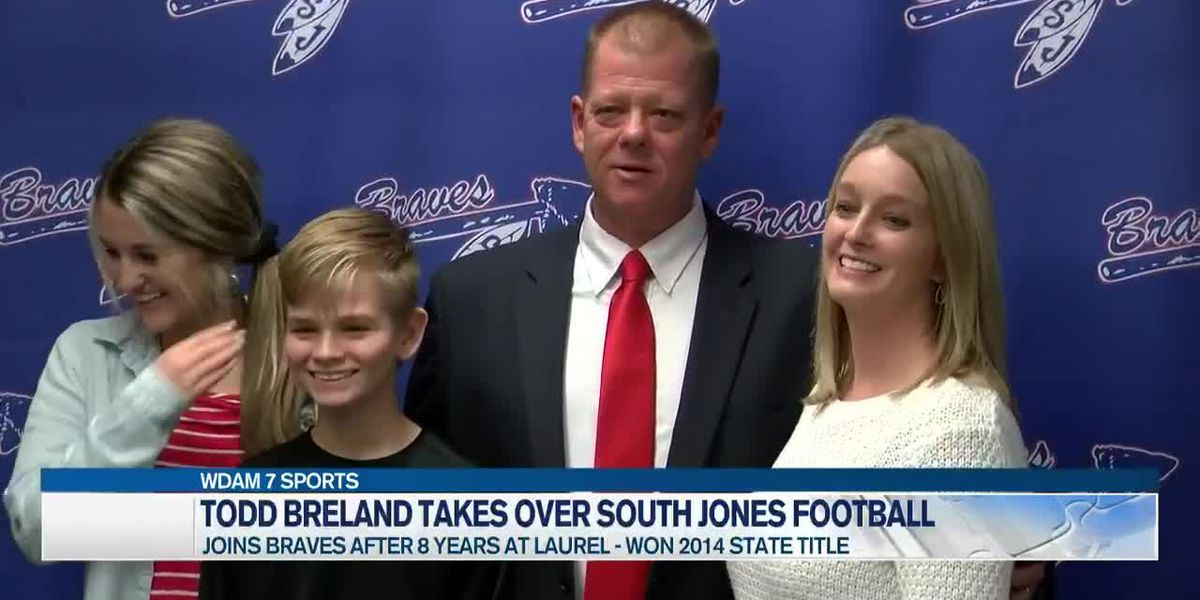 Todd Breland takes reins of South Jones football