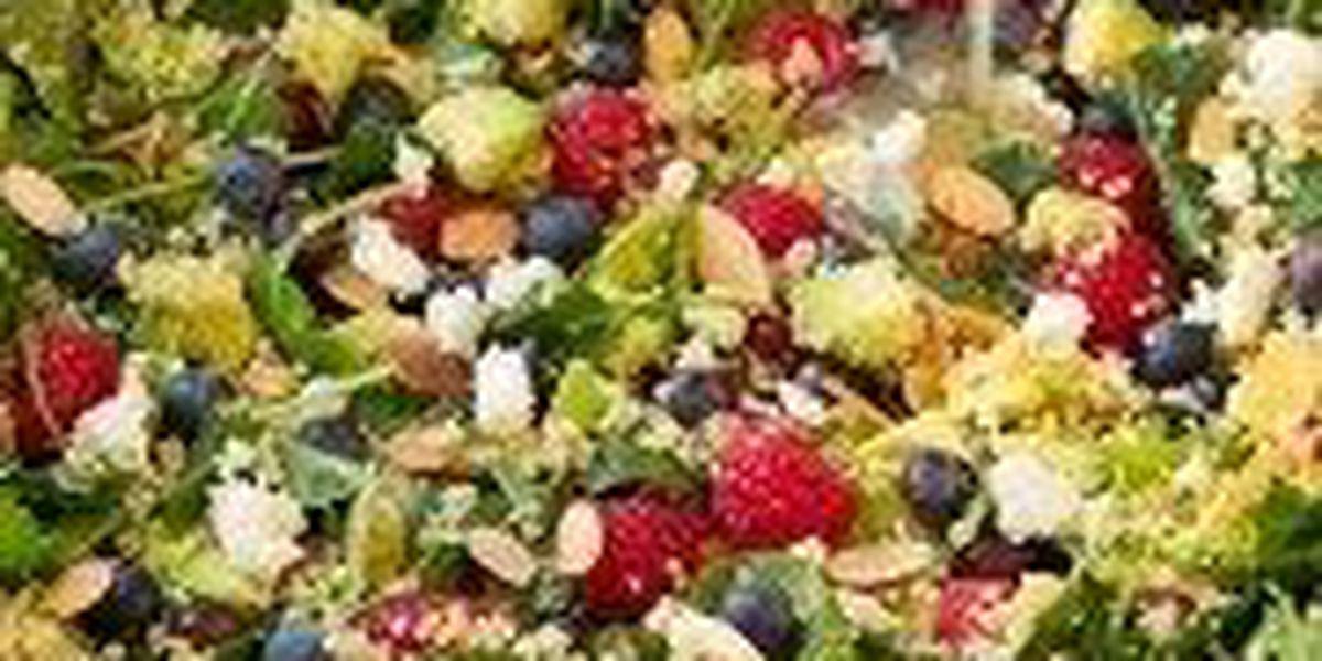 RECIPE: Berry avocado quinoa and kale salad