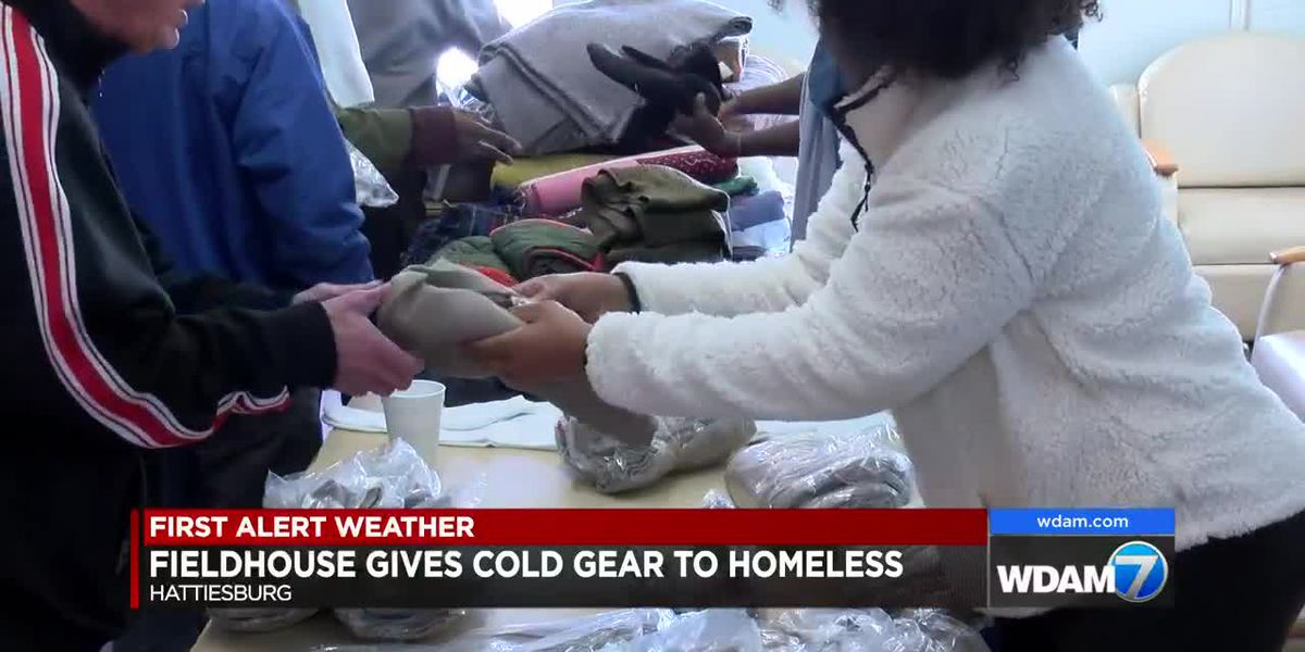 Fieldhouse and local shelters help homeless brace cold weather