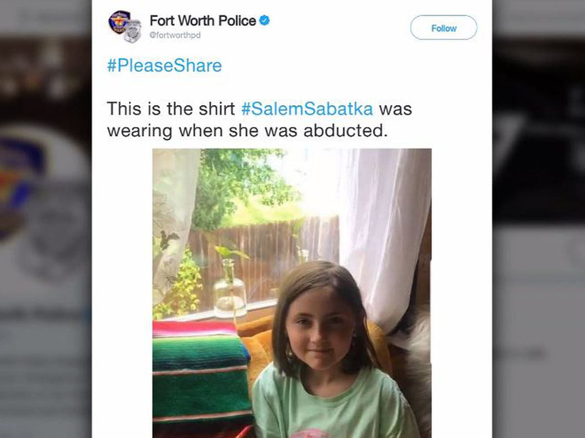 Girl, 8, found safe after abduction while walking with mom in Texas, police say