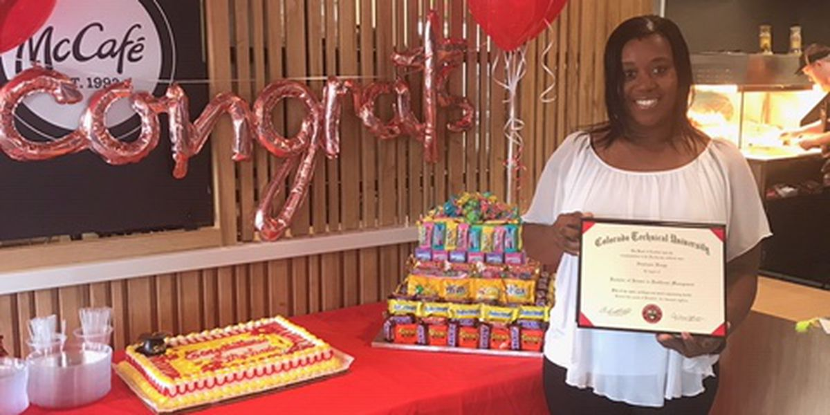 McDonald's honors Hattiesburg employee for academic accomplishment