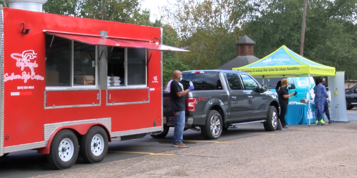 Molina Healthcare, PRVO hold free food truck event in New Augusta