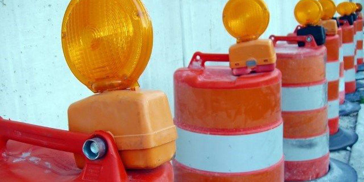 Traffic delay on I-59 in Hattiesburg