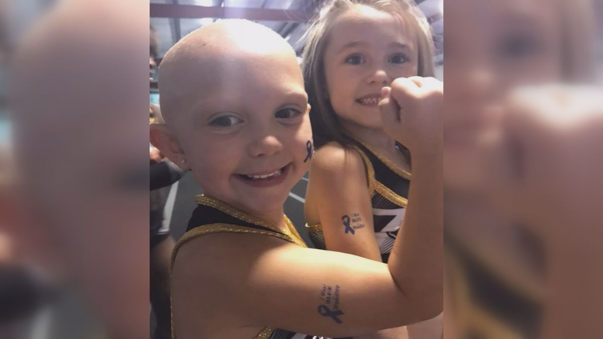 Good News: Laurel cheer team rallies around teammate with Alopecia