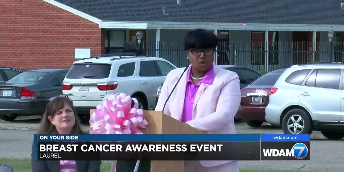 Laurel Housing Authority holds breast cancer awareness event