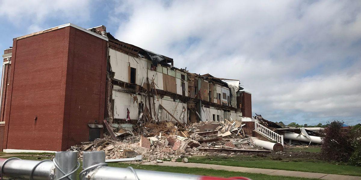 Historic building demolished at William Carey
