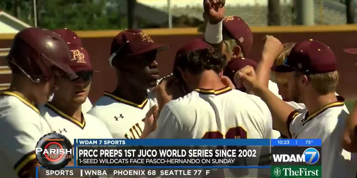 PRCC faces Pasco-Hernando in opening round of NJCAA World Series