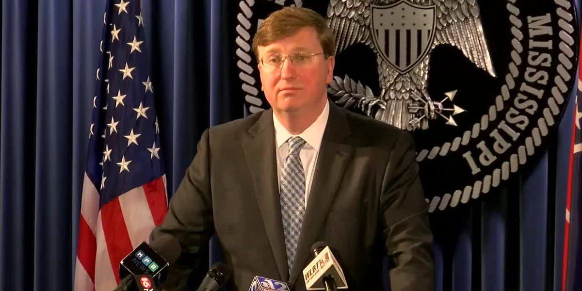WATCH: Gov. Tate Reeves gives update on Pearl River flooding, Miss. prisons