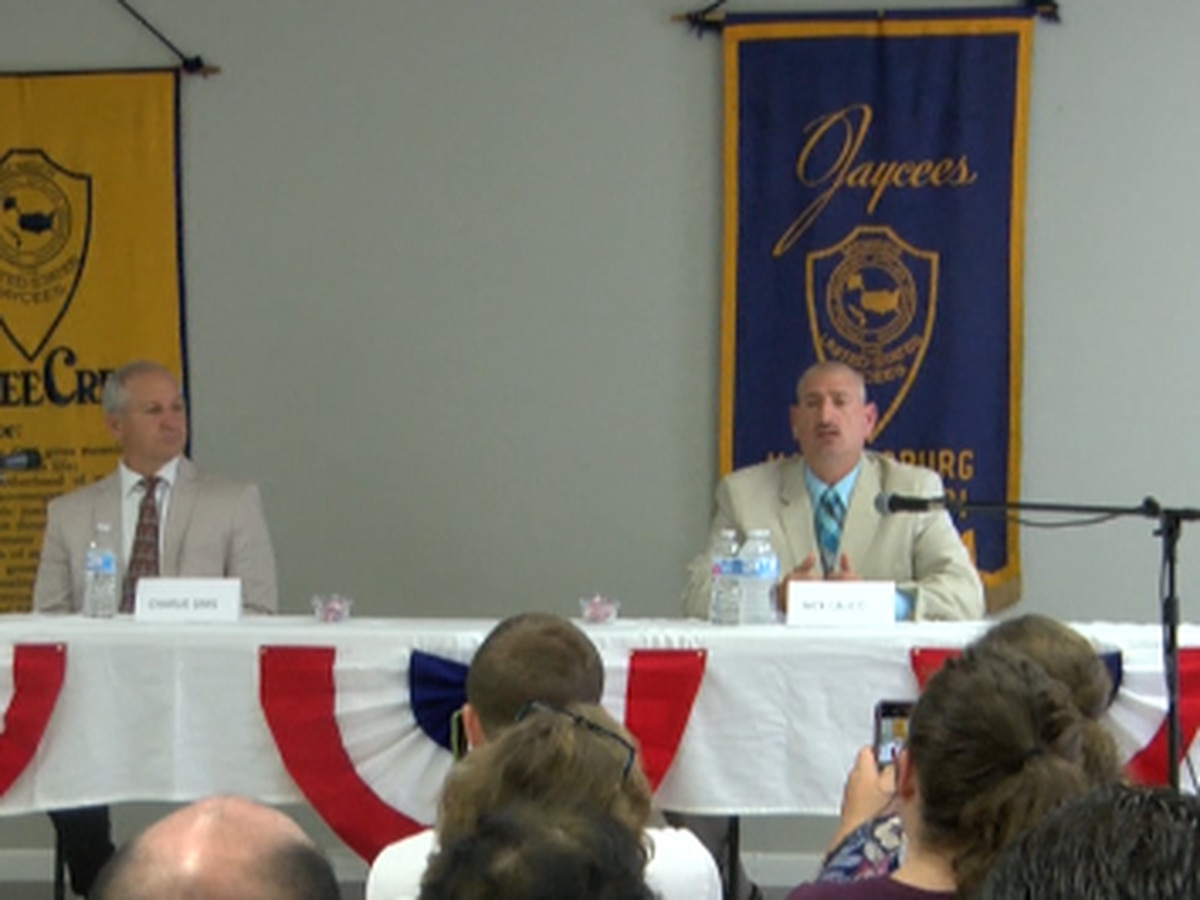 Forrest County Sheriff candidates speak at forum
