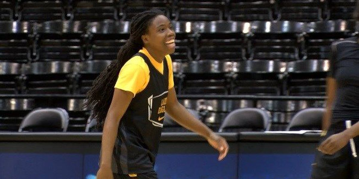 Brittanny Dinkins, Lady Eagles with high aspirations