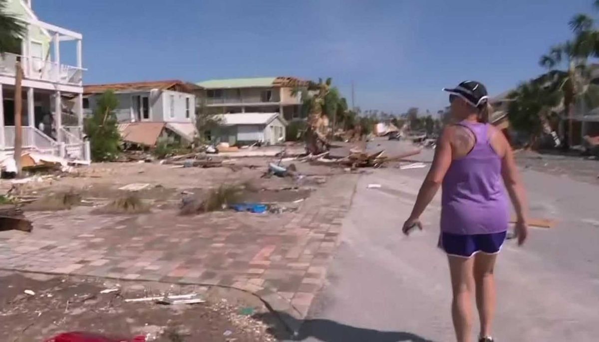 Gas Prices In Florida >> Florida beach town devastated by Hurricane Michael