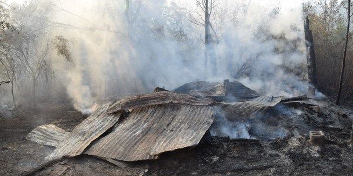 One critically injured, several structures destroyed in Jones County fire