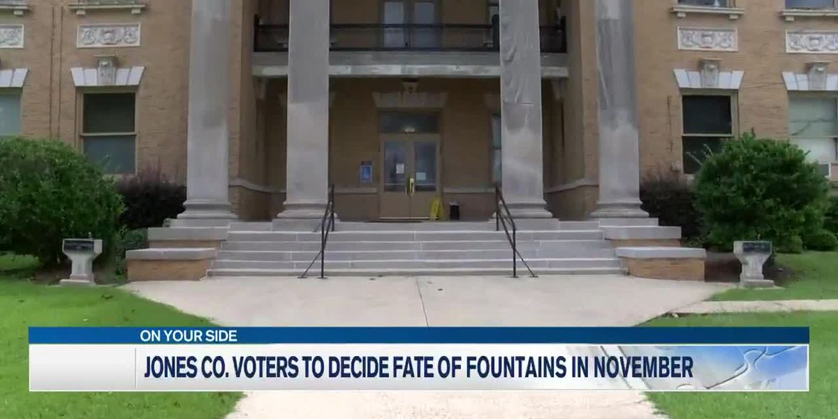 Jones County voters to decide fate of once-segregated water fountains
