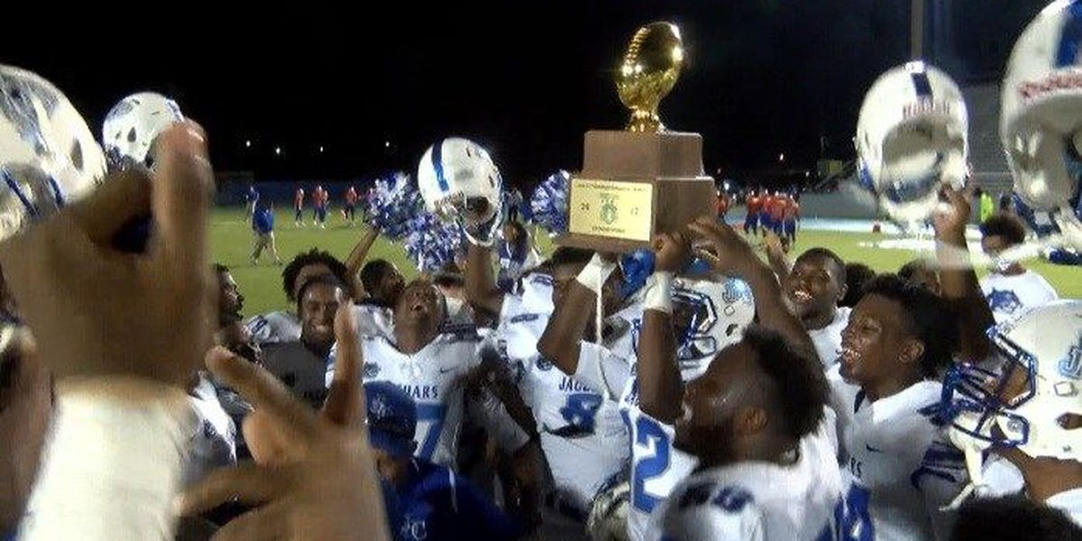 Jefferson Davis County wins first game in program history