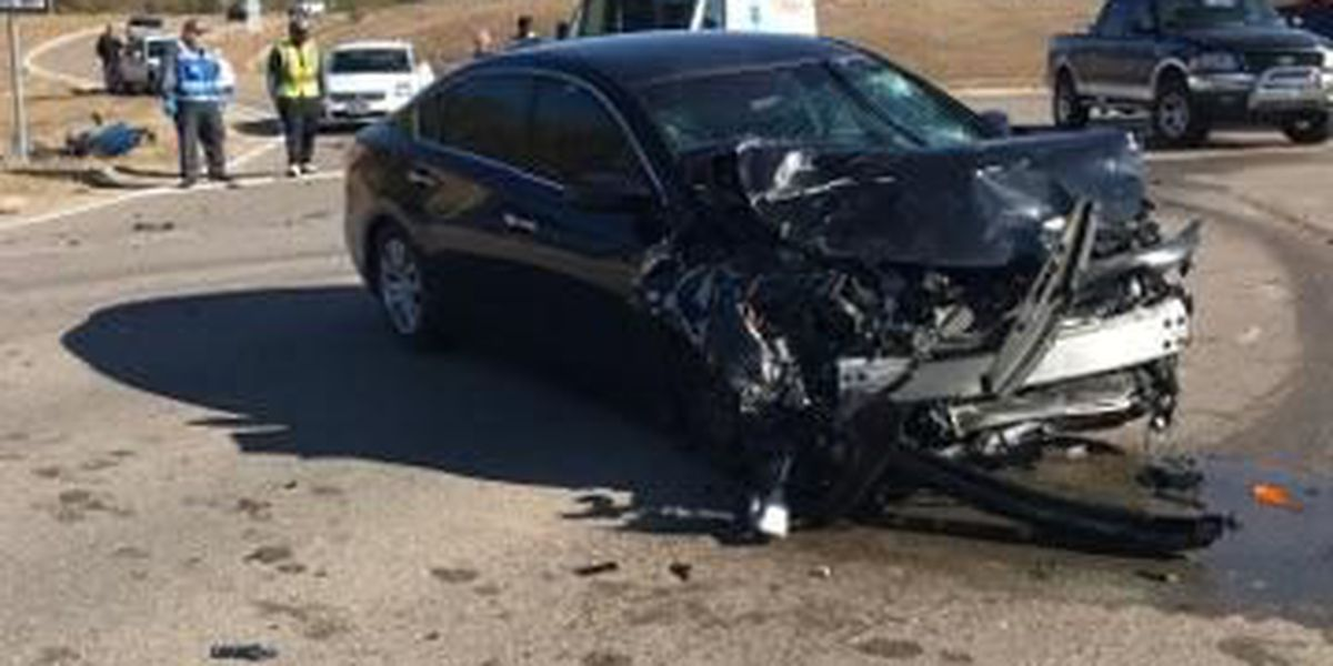 Two injured in two-vehicle accident in Jones Co.