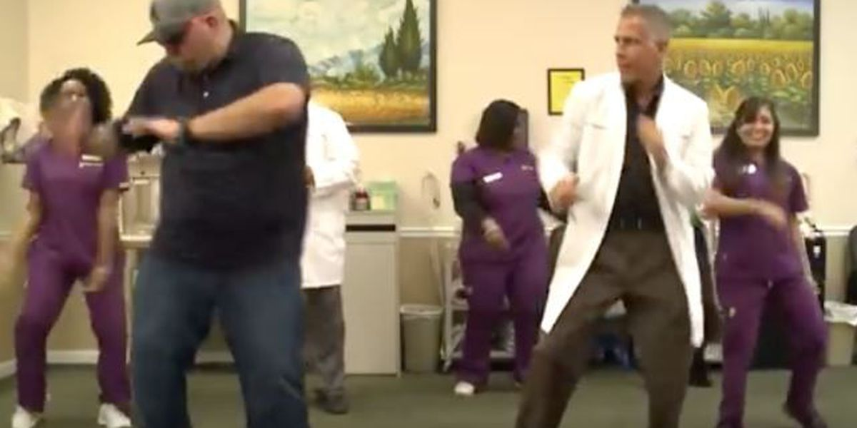 VIDEO: Chiropractic clinic does the 'Watch Me (Whip/Nae Nae)' dance