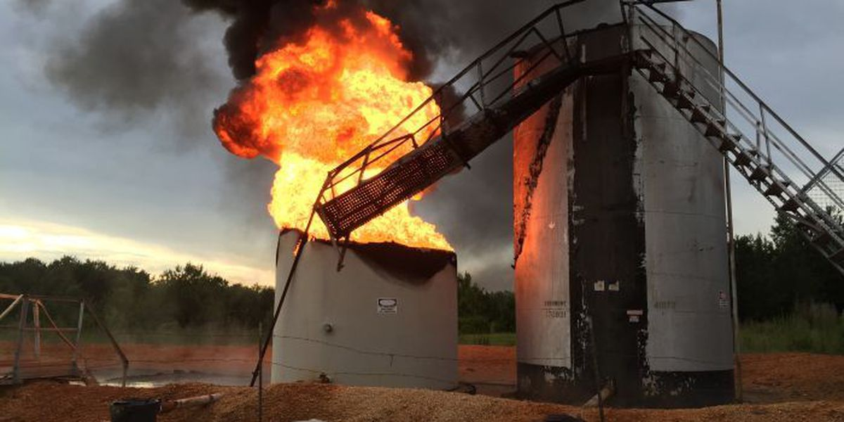 Crude oil fire in Jeff Davis County extinguished in minutes