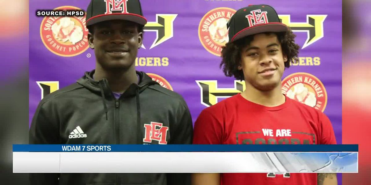 Three local players sign JUCO scholarships