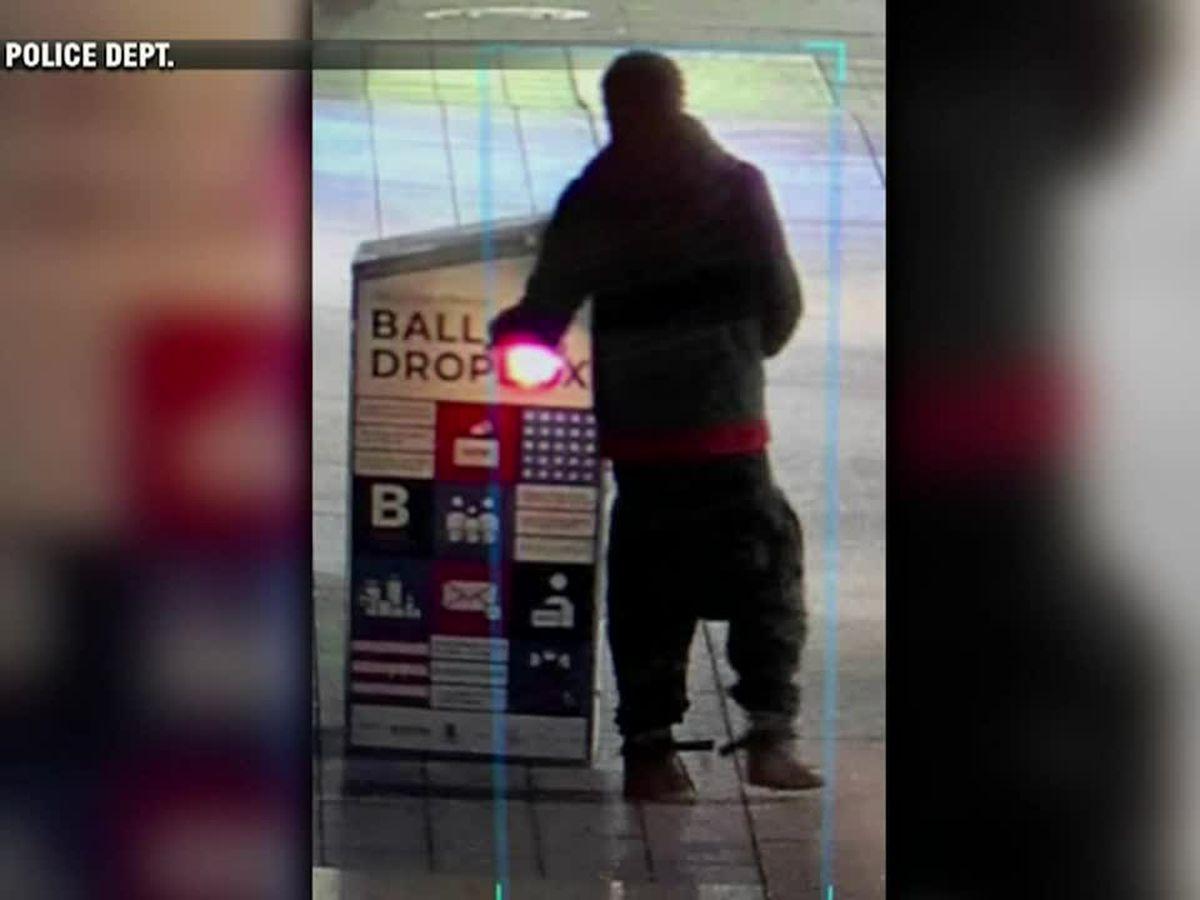 Man charged in burning of ballot drop box in Boston