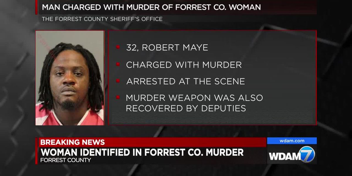 Man charged with murder of Forrest County woman