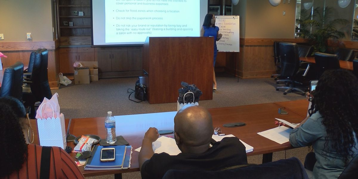Hattiesburg salon owner puts on small business seminar