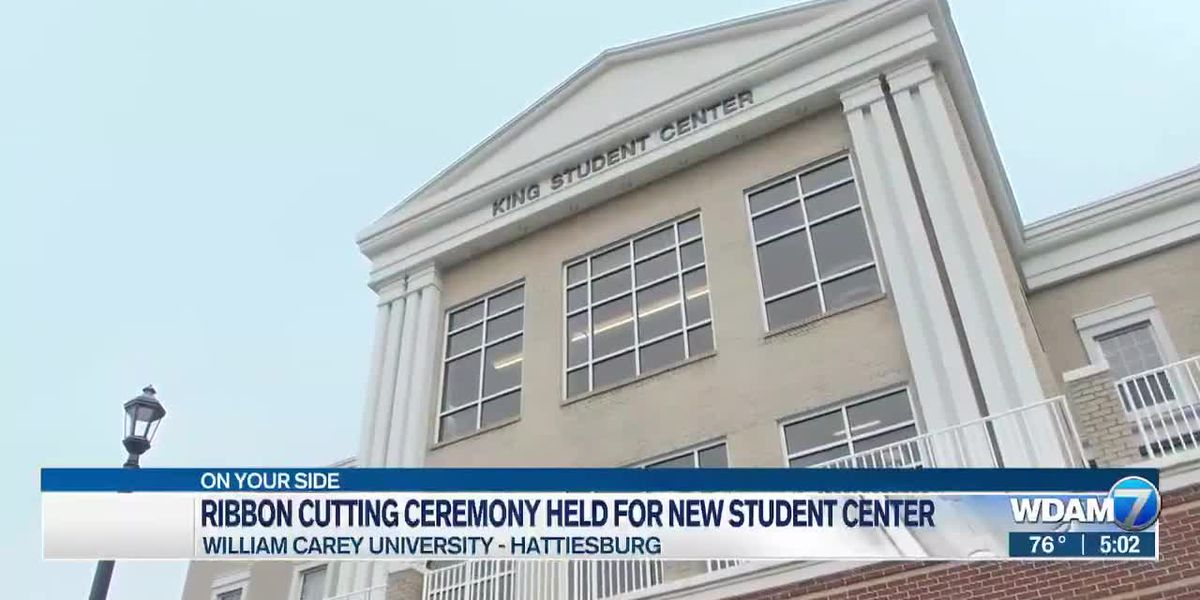 Ribbon-cutting ceremony held for William Carey's King Student Center