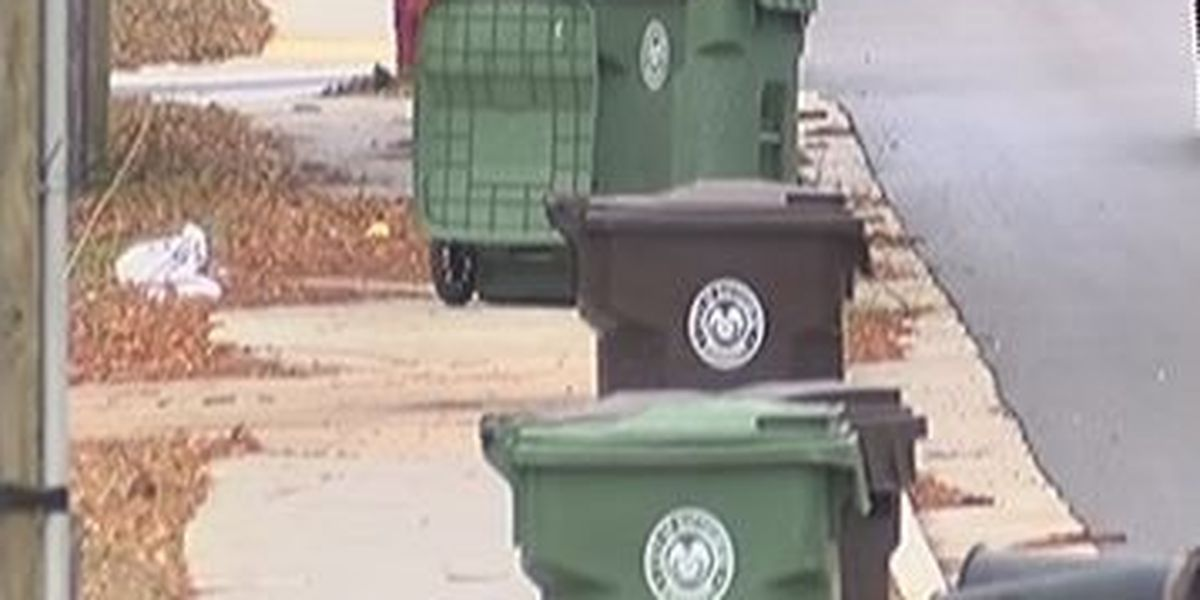 Hattiesburg trash pick-up schedule changed due to holiday