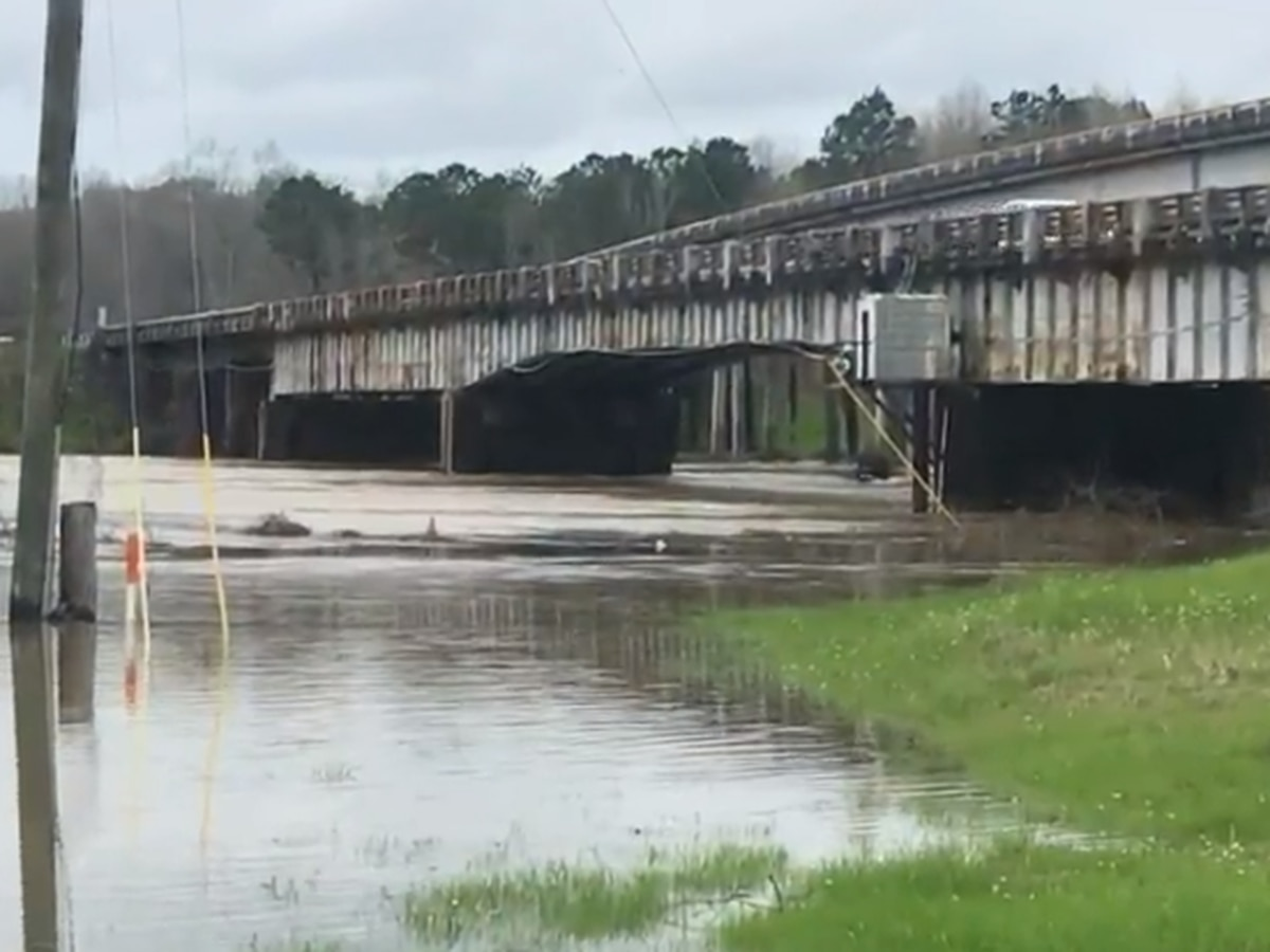 Pearl River continues to rise in Marion Co., expected to crest Sunday