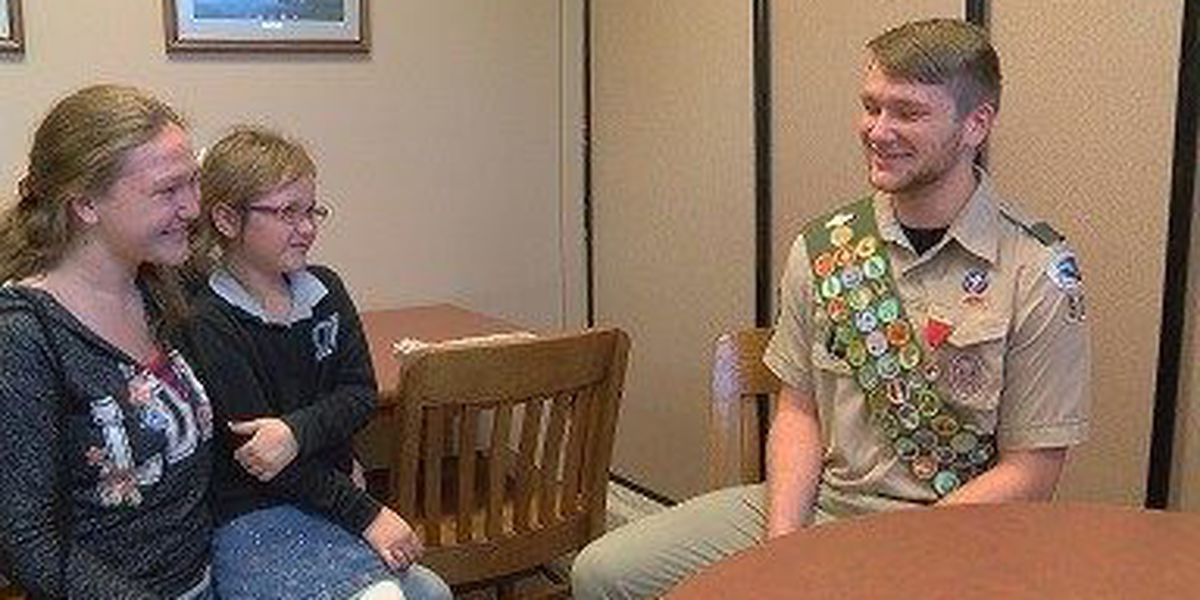 Heroic acts of local Boy Scout portrayed in national magazine