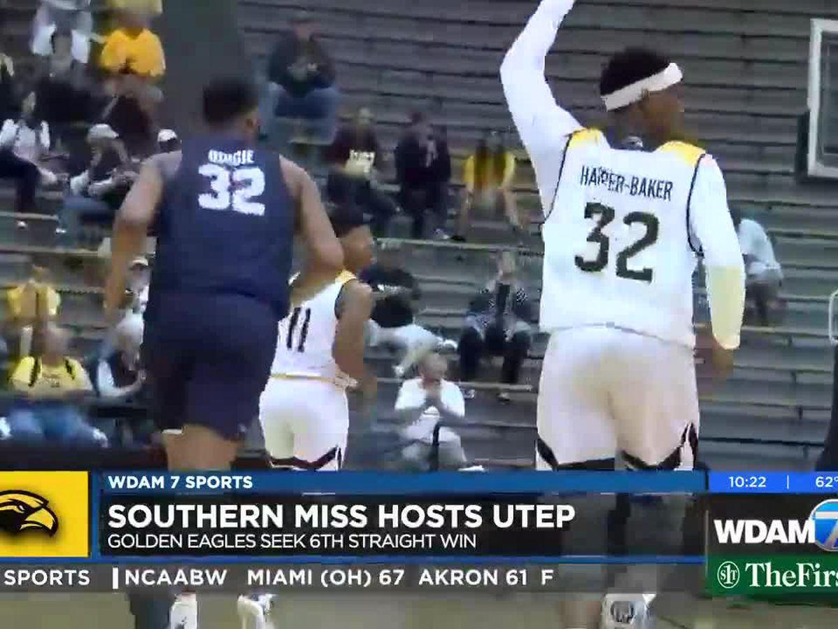 USM routs UTEP, 77-47