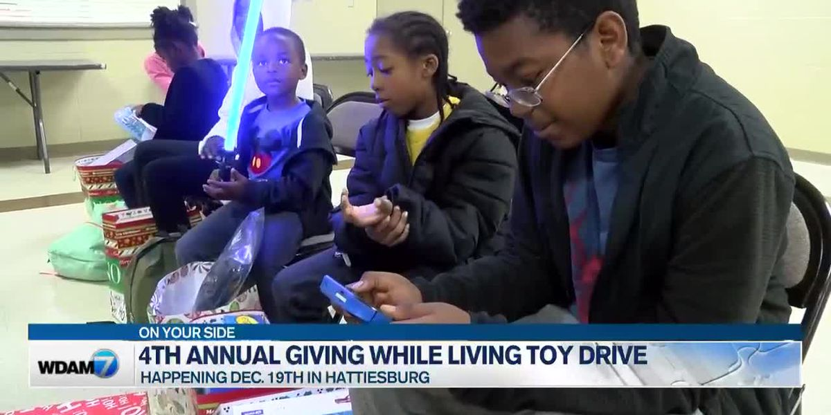4th Annual 'Giving While Living' toy drive happening Dec. 19
