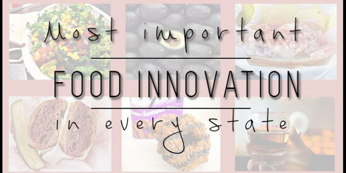 SLIDESHOW: Most important food innovation in every state